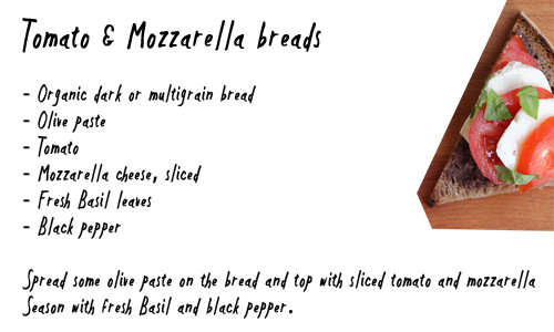 mozzarella bread recipe